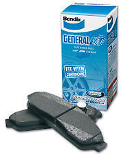 BENDIX GCT FRONT BRAKE PADS FOR HOLDEN COMMODORE VE 06-ON DISC PAD DB1765