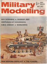 MILITARY MODELLING Magazine July 1972 (Great Britain)