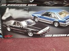 GMP 1989 FORD MUSTANG COUPE GT METALLIC BLUE 1/18 ERROR BOX