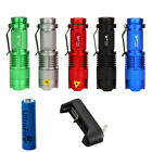 Ultrafire 1200lm Cree Q5 LED 7w Mini Flashlight Torch Lamp 14500 Zoomable 5Color