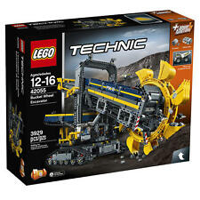 LEGO Bucket Wheel Excavator 42055 Technic Set w Power Functions
