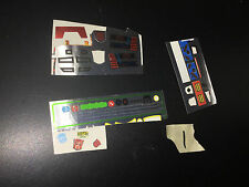 Transformers Master Piece MP G1 some Unused Sticker Sheets LOT #1 classics smoke