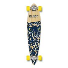 Yocaher Complete Spirit Owl Pintail Longboard