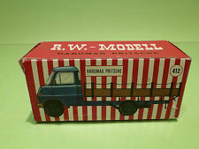R.W. MODELL EMPTY BOX -  HANOMAG PRITSCHE   - RARE SELTEN  - GOOD CONDITION  -