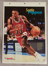SCOTTIE PIPPEN BULLS SPORTS HEROES 14x10 POSTER PAGE