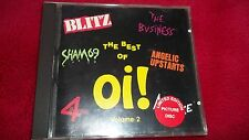 Best of Oi! Volume 2 CD - 4 Skins, Blitz, The Business, Punk