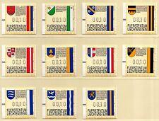 Liechtenstein * ATM 1-23 completamente **/mnh * Frama * franqueados *