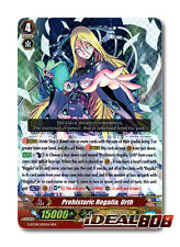 Cardfight Vanguard  x 1 Prehistoric Regalia, Urthr - G-BT08/005EN - RRR Mint