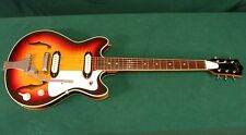 60s Vintage MIJ Norma 3/4 Hollow Body Guitar - Kent Teisco - Japan - Excellent