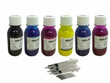 6x100ml sublimation Refill ink For Epson 48 78 79 98 277 Cartridges syringes