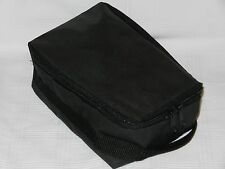 Vintage Audio Cassette Tape Travel / Storage Soft Case - Lightly Used