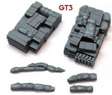 1/72 scale 72GT3 German Truck Blob (2 Pack) WW2 Vehicle stowage