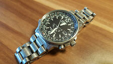 Citizen señores chronograph reloj pulsera eco drive watch radiocontrolado acero inoxidable WR 200