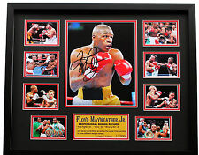 New Floyd Mayweather Signed Limited Edition Memorabilia
