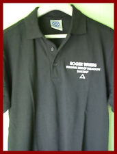 ROGER WATERS (PINK FLOYD) - TOUR EMBROIDERED POLO SHIRT (S) (M) - NEW