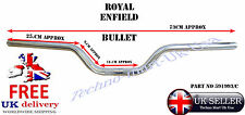 "ROYAL ENFIELD BULLET CLASSIC 7/8"" HANDLE BAR HANDLEBAR MOTORBIKE CHROME 591993/C"