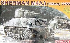 Dragon 7274: 1/72 Sherman M4A3(105mm) VVSS (Armor Pro Kit)