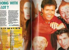 The YOUNG ONES (Rik Mayal) Cliff Richard magazine PHOTO and  Living Doll lyrics