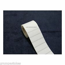 """500 FREEZER OR REFRIGERATOR LABELS SELF ADHESIVE 3/4""""x 2 1/4"""" ON ONE ROLL"""