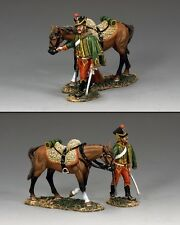KING AND COUNTRY French Hussar Walking with Horse NA301