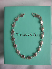 "TIFFANY & CO. STERLING SILVER ""CHAIN OF HEARTS"" BRACELET!!!"