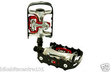 XLC Dual Purpose Town Bike Trekking SPD Hybrid Bicycle Flat Pedals rrp £34.99