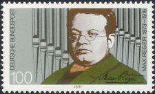 Germania 1991 MAX Reger/MUSICA/COMPOSITORI/Organo tubi/strumenti/L' ARTE 1v (n44959)