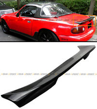 For 1990-1997 Mazda Miata NA JDM Carbon Fiber Extended Big Trunk Spoiler Wing