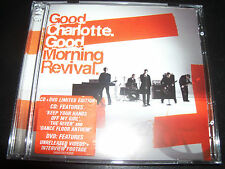 Good Charlotte Good Morning Revival Australian Limited CD DVD Edition