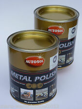 (29,20€/L) 2x 750 ml Autosol® Chrompolitur Chromglanz Metal Polish Reiniger