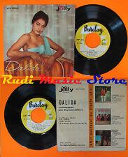 LP 45 7'' DALIDA La pioggia cadra'Gli zingari Come prima 1959 italy cd mc dvd