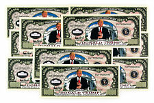 10 Donald Trump USA fantasy paper money Legacy President 2016