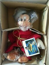 Applause Fantasia Mickey Mouse Sorcerer Porcerlain Figure 50th Anniversary Doll