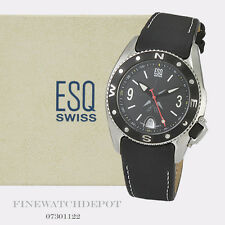 Authentic Men's ESQ Swiss Stainless Steel Tactical Watch  07301122