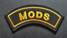 MOD SKA SCOOTER SEW ON / IRON ON PATCH:- PATCH No 1221 NAME TO FOLLOW