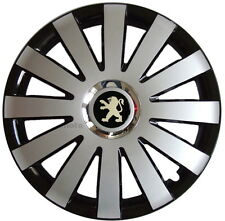 "15"" Peugeot 207  308  Partner  306  605  Wheel Trims Covers, Hub Caps Quantity 4"