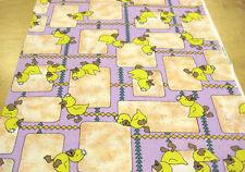 3 m Baumwolle Enten Entchen Kinderzimmer Stoffe Kissen Bettwäsche Vorhang Beutel