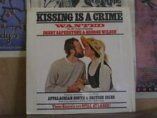 DEBBY SAPERSTONE GEORGE WILSON, KISSING IS A CRIME LP
