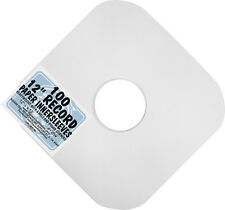 "(100) 12"" White HEAVYWEIGHT Paper Inner Sleeves LP Vinyl Record PROTECTION #12IW"
