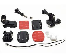 Locking Plug Grab Bag of Mounts Kit For GoPro Hero 1 2 3 3+ 4 Camera Accessories