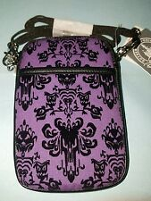 Disney Parks Haunted Mansion Wallpaper Phone Case Smartphone Purse Bag LEOTA New
