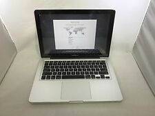 MacBook Pro 13 Mid 2012 MD102LL/A 2.9GHz i7 8GB 750GB Good READ