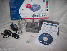 D-LINK DWL-800AP+  ENHANCED 2.4GHz WIRELESS RANGE EXTENDER~COMPLETE IN BOX~