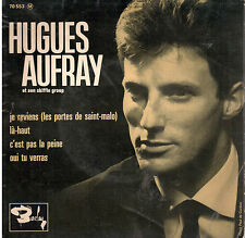 45T EP: Hugues Aufray: je reviens + 3 titres. barclay