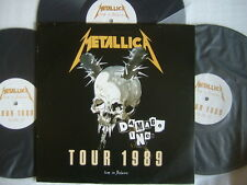 METALLICA LIVE IN BELGIUM TOUR 1989 DAMAGE INC / UN-PLAYED