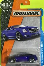 MATCHBOX Diecast Metal Cadillac CTS Coupe Toy model replica Toy Scale 1/66 2016.