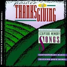 Power of ThanksGiving: Integrity Music's Scripture Memory Songs