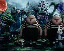 Matt LUCAS SIGNED Autograph Photo AFTAL COA Tweedle DEE DUM ALice in Wonderland