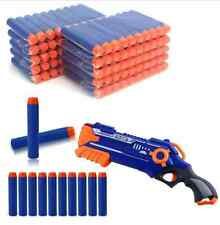 100pcs Toy Refill Gun Darts Blasters Round Head Bullets for Elite NERF N-Strike