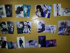 SHINEE plastic PHOTO CARD #1#2 ,5X2+6X2 Total 22 Sheet - SM DREAM lucifer MINHO
